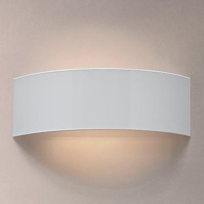 John Lewis Radii Wall Light, White