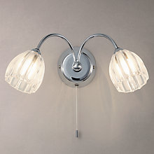Buy John Lewis Brooke 2 Arm Wall Light Online at johnlewis.com