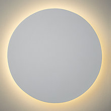 Buy ASTRO Eclipse LED Wall Light, White Online at johnlewis.com