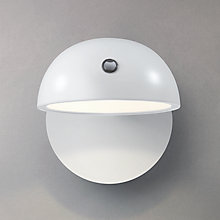 Buy John Lewis Aylin LED Dome Wall Light, White Online at johnlewis.com