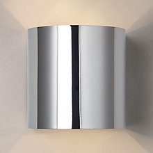 Buy John Lewis Beem Wall Light, Chrome Online at johnlewis.com