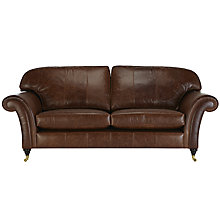 Buy John Lewis Beaumont Grand Leather Sofa Online at johnlewis.com