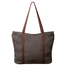 Buy East Reece Classic Jute Bag Online at johnlewis.com