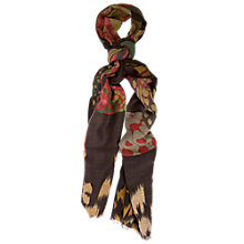 Buy Chesca Butterfly Printed Scarf, Multi Online at johnlewis.com