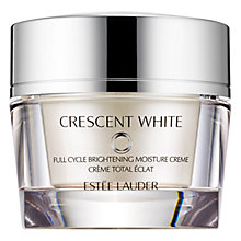Buy Estée Lauder Crescent White Moisture Creme, 50ml Online at johnlewis.com