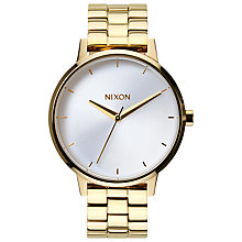 Buy Nixon Women's The Kensington Stainless Steel Bracelet Watch Online at johnlewis.com
