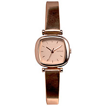 Buy Komono W1222 Women's Moneypenny Metallic Watch, Rose Gold Online at johnlewis.com