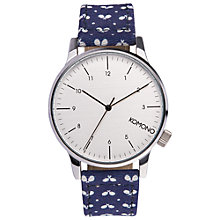 Buy Komono Men's Winston Print Ping Pong Watch, Polka Dot Online at johnlewis.com