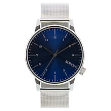 Buy Komono Men's Winston Royale Stainless Steel Mesh Bracelet Watch Online at johnlewis.com