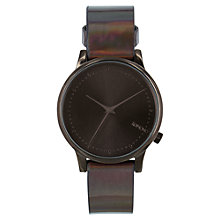 Buy Komono Women's Estelle Iridescent Strap Watch Online at johnlewis.com