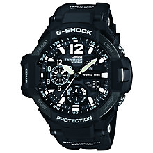 Buy Casio GA-1100-1AER  G-Shock Men's Watch, Black Online at johnlewis.com