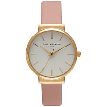 Buy Olivia Burton OB15TH03 Women's The Hackney Watch, Dusty Pink Online at johnlewis.com