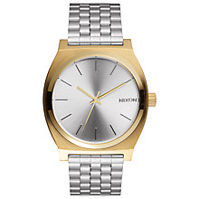 Buy Nixon A045-2062 Women's Time Teller Bracelet Watch, Silver Online at johnlewis.com