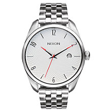 Buy Nixon A418 Bullet Women's Stainless Steel Strap Watch Online at johnlewis.com