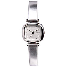 Buy Komono Women's Gold Peach Moneypenny Leather Strap Watch Online at johnlewis.com