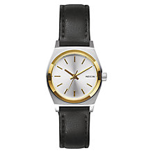 Buy Nixon A509-1884 Women's Small The Time Teller Watch, Black Online at johnlewis.com