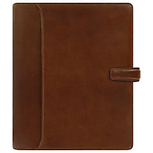Buy Filofax Lockwood Personal Organiser A5, Non-zip, Cognac Online at johnlewis.com