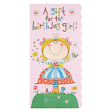 Buy Rachel Ellen A Gift Fairy Birthday Card Online at johnlewis.com