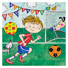 Buy Rachel Ellen Football Birthday Card Online at johnlewis.com