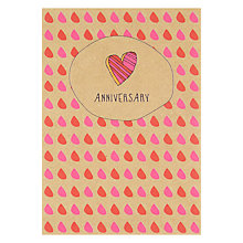 Buy Pocket Type Writer Anniversary Heart Greeting Card Online at johnlewis.com