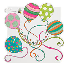 Buy Rachel Ellen Balloons Congratulations Card Online at johnlewis.com