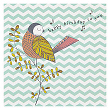 Buy Rachel Ellen To You Bird Greeting Card Online at johnlewis.com