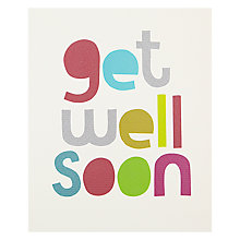 Buy Really Good Get Well Soon Greeting Card Online at johnlewis.com