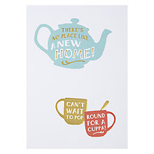 Buy Hotchpotch No Place Like Home Greeting Card Online at johnlewis.com