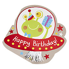 Buy Hotchpotch Alien Birthday Card Online at johnlewis.com