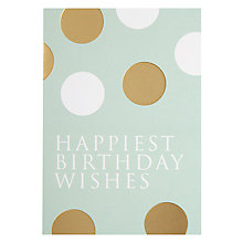 Buy Lagom Designs Happiest Birthday Greeting Card Online at johnlewis.com