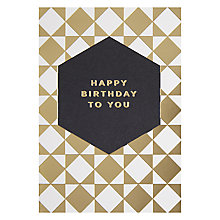 Buy Lagom Designs Happy Birthday Card Online at johnlewis.com