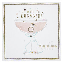 Buy Hotchpotch Champagne Engagement Greeting Card Online at johnlewis.com