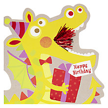 Buy Hotchpotch Dragon Birthday Card Online at johnlewis.com