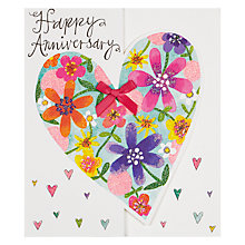 Buy Rachel Ellen Happy Anniversary Greeting Card Online at johnlewis.com
