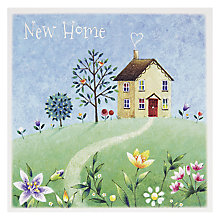 Buy Mint Happy New Home Greeting Card Online at johnlewis.com