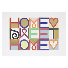 Buy Lagom Designs Home Sweet Home Greeting Card Online at johnlewis.com