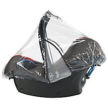 Buy Maxi-Cosi CabrioFix/Pebble/Plus Car Seat Rain Cover Online at johnlewis.com