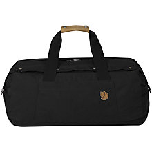 Buy Fjallraven Gear Duffel Bag, Black Online at johnlewis.com