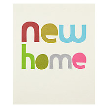 Buy Really Good New Home Greeting Card Online at johnlewis.com