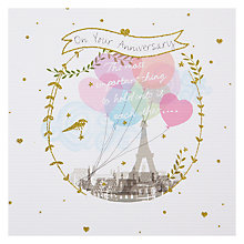 Buy Mint On Your Anniversary Greeting Card Online at johnlewis.com