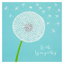Buy Rachel Ellen Dandelion Head Greeting Card Online at johnlewis.com