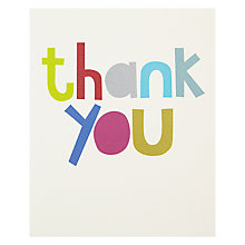Buy Really Good Thank You Greeting Card Online at johnlewis.com
