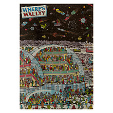 Buy Woodmansterne Wally In Space Greeting Card Online at johnlewis.com