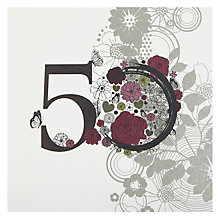 Buy Twizler Vintage 50th Birthday Card Online at johnlewis.com
