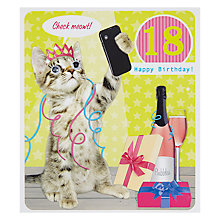 Buy Paperlink 18th Birthday Card Online at johnlewis.com