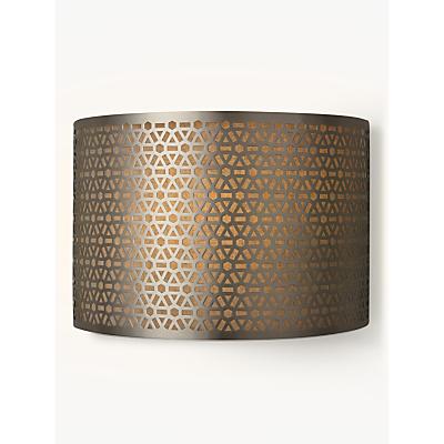 John Lewis Meena Wall Light, Steel