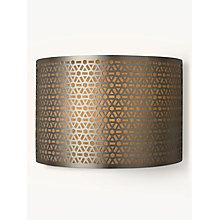 Buy John Lewis Meena Wall Light, Steel Online at johnlewis.com