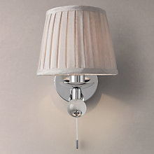 Buy John Lewis Lavinia Wall Light with Shade Online at johnlewis.com