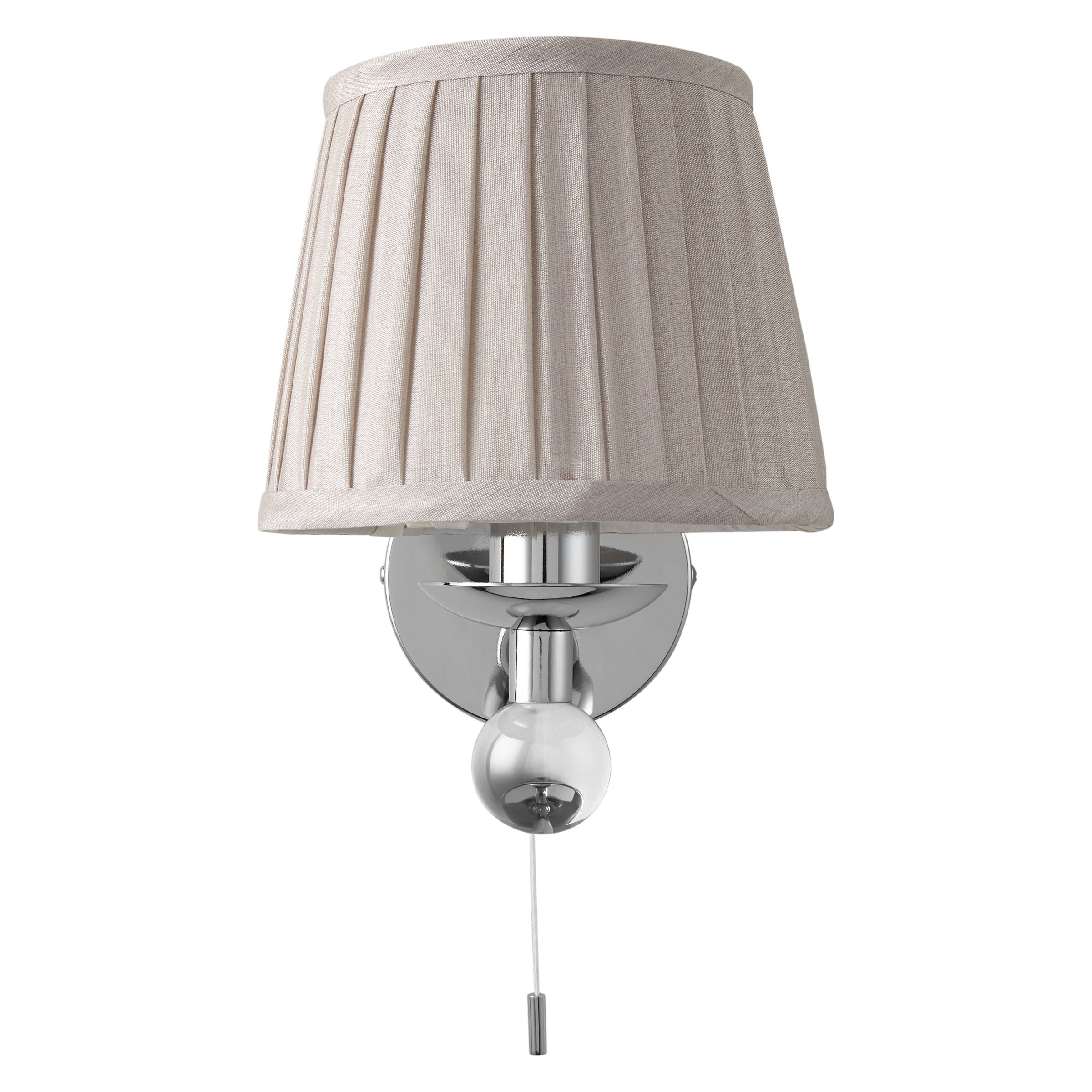 Buy John Lewis Lavinia Wall Light with Shade John Lewis