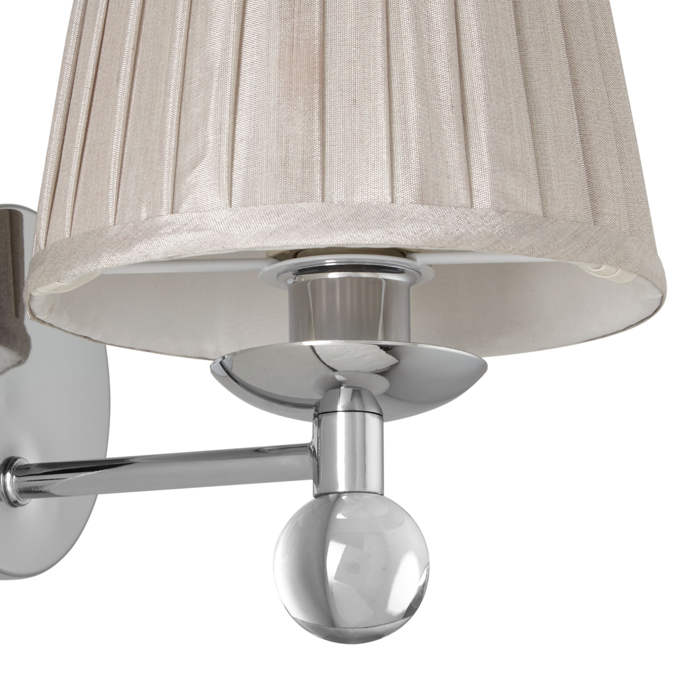 John Lewis Wall Lamp Shades : Buy John Lewis Lavinia Wall Light with Shade John Lewis